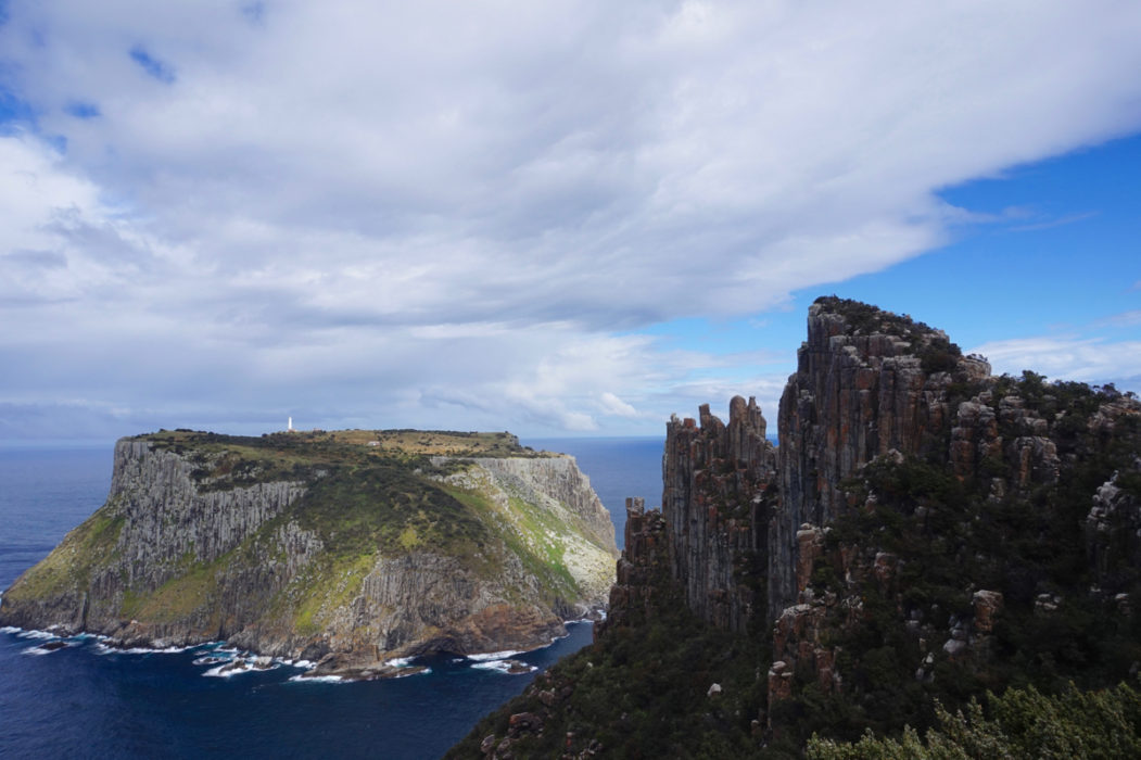 Cape Pillar And Tasman Island Full Width