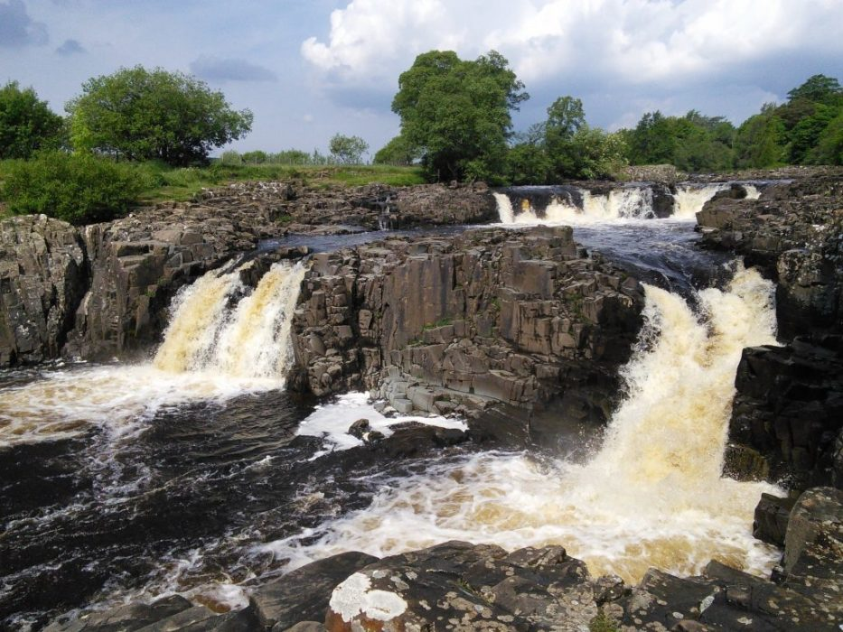 Low Force One Of Several Fine Waterfalls In Teesdale