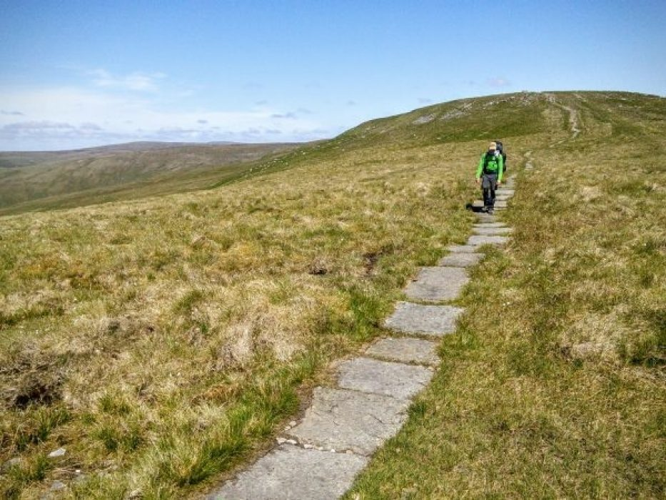 Walking The Wrong Way On Great Shunner Fell