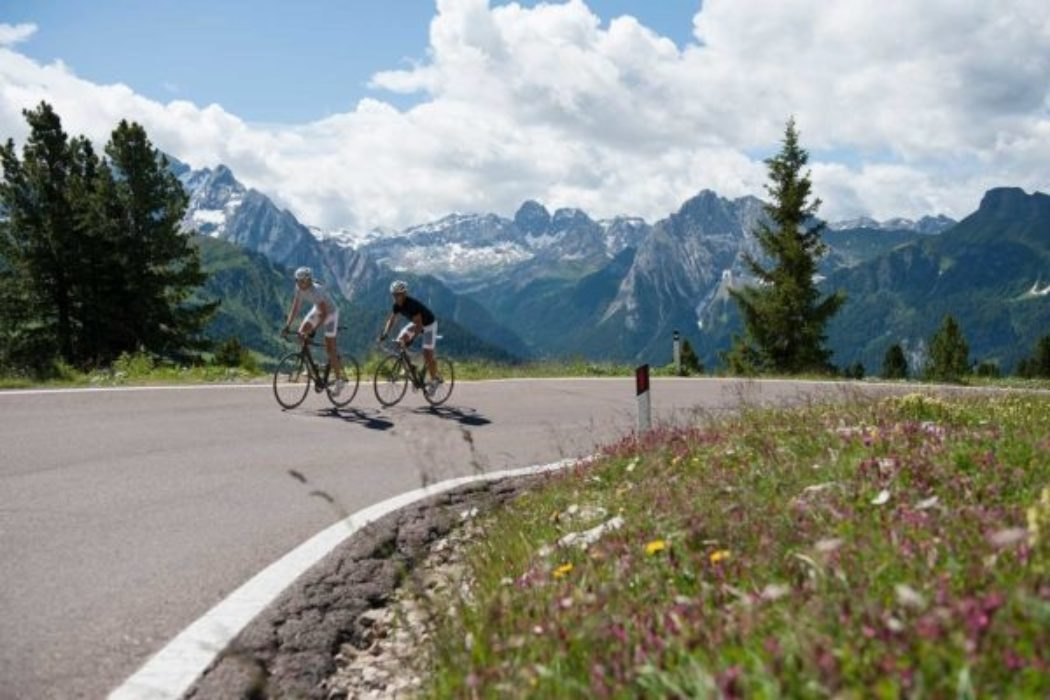 Road Biking In The Alps
