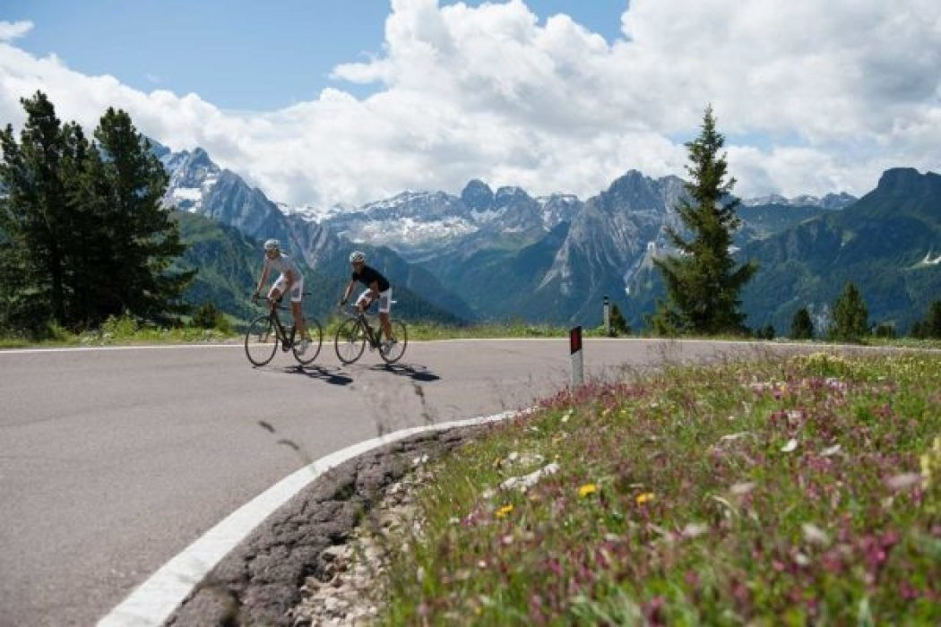 Road Biking In The Alps