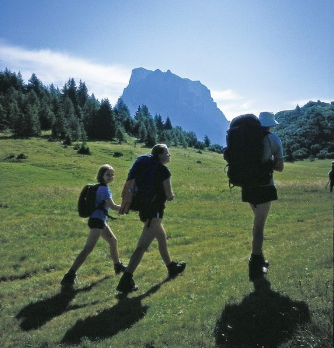 Walking Image