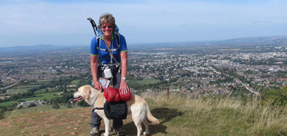 Walking with your dog on the Cotswold Way