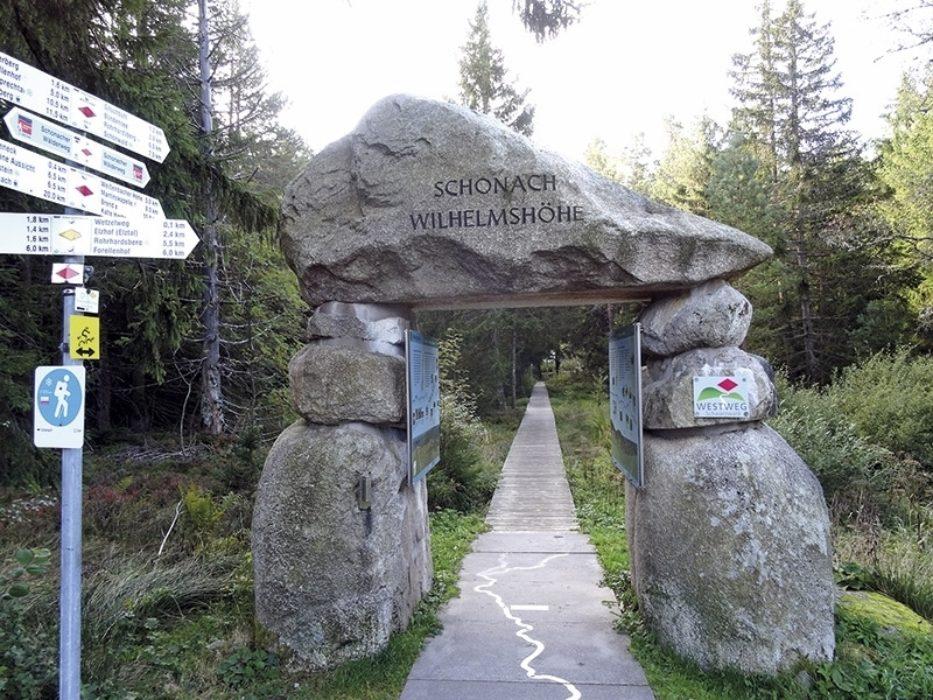 Trekking The Westweg Or Westway Through Germanys Black Forest With A Cicerone Guidebook