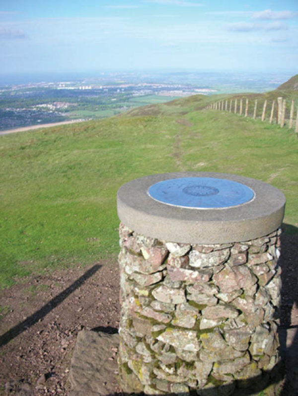 The Viewpoint Indicator On Allermuir Summit