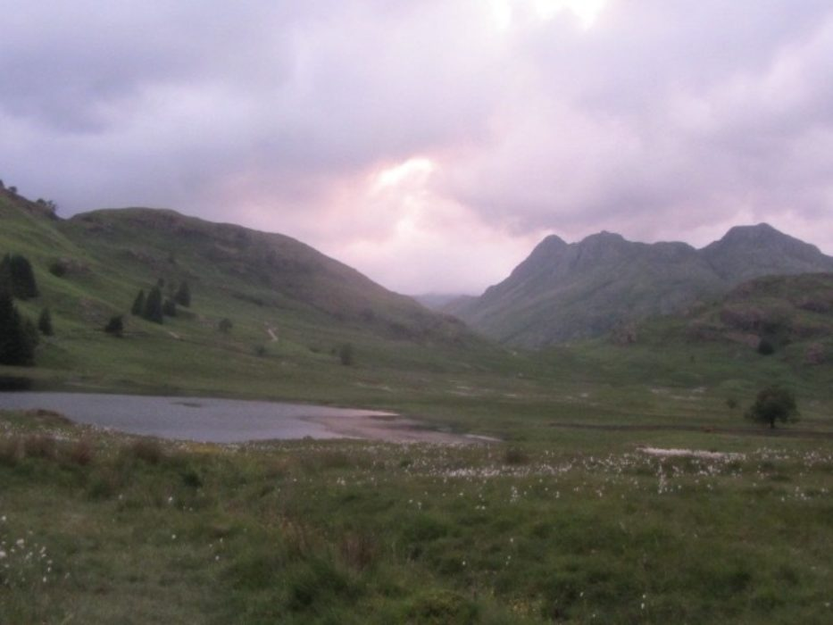 Blea Tarn At Dusk