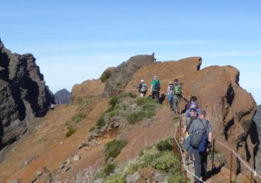 The Path Towards Pico Ruivo