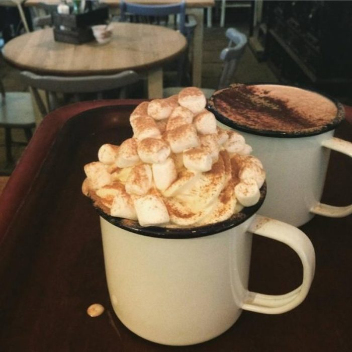 Hot Chocolate At The Wizard Tearooms