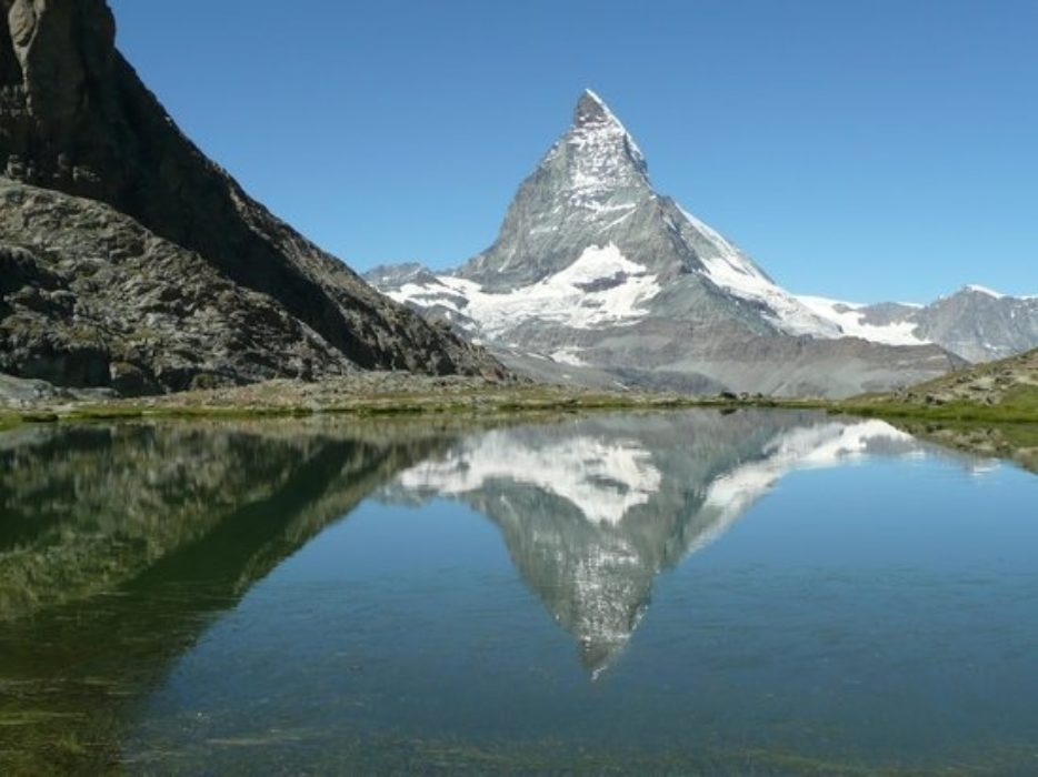 The Unmistakeable Outline Of The Matterhorn