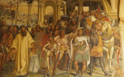 6  St Benedict Fresco Scene 1024X768