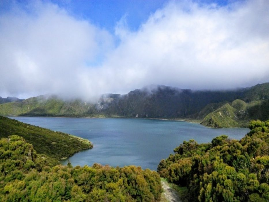 """By all accounts, a walk to Lagoa do Fogo on the island of São Miguel is often plagued by low cloud. Here's my experience of it, viewed from around 600m."""