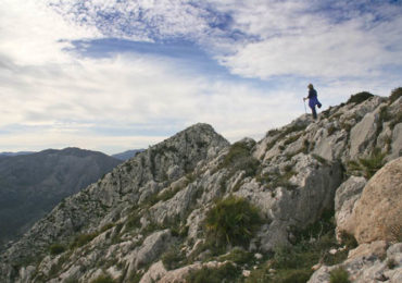 Terry Fletcher walking on the Costa Blanca