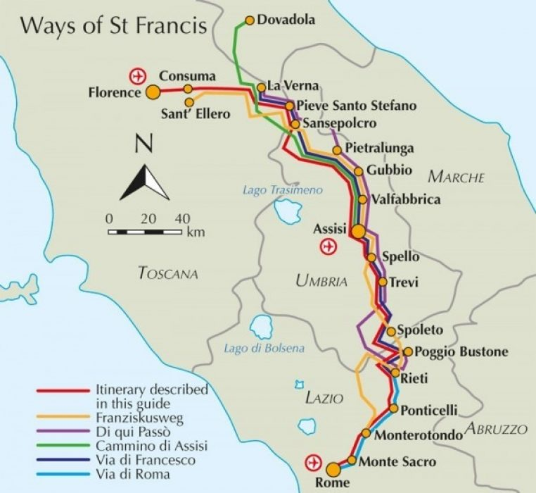 The Way Of St Francis Cicerone Guide
