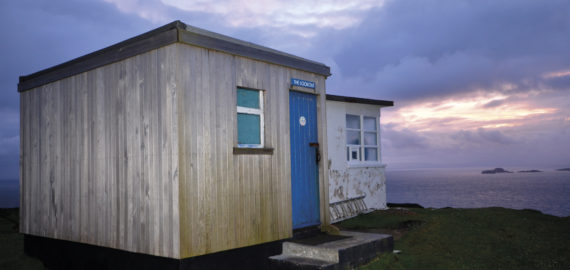 Look out for 'The Lookout' bothy on Skye