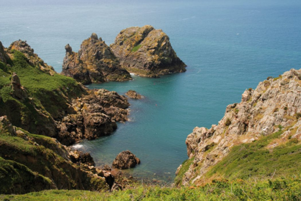 Walking along Jersey's Coastline with a Cicerone Guide