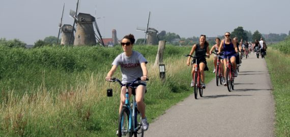 The Rhine Cycle Route with a Cicerone Guide