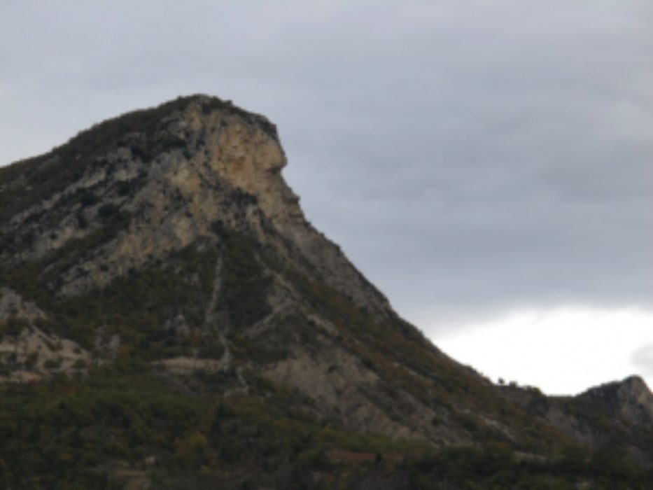 Enigmatic Profile Of The Rocher De Bramard