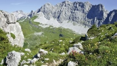 Trekking in the beautiful Silvretta and Ratikon Alps