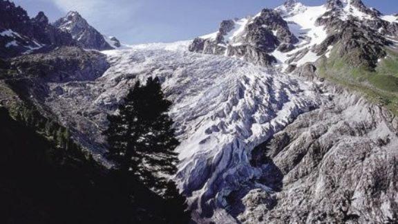 Early season snow in the Alps