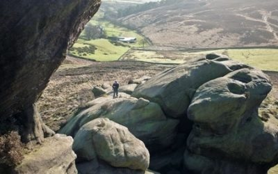 Scrambling in the Peak District