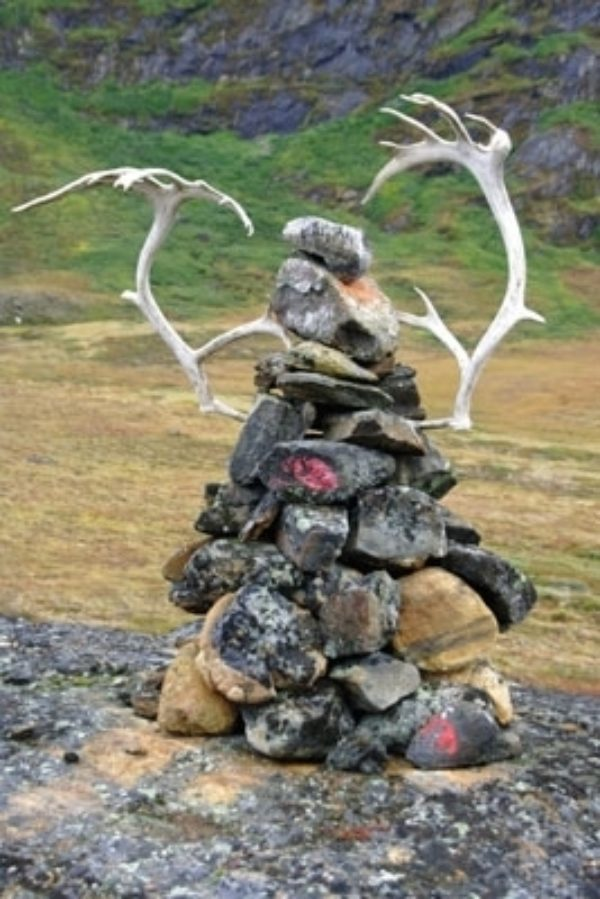 Cairns Along The Arctic Circle Trail