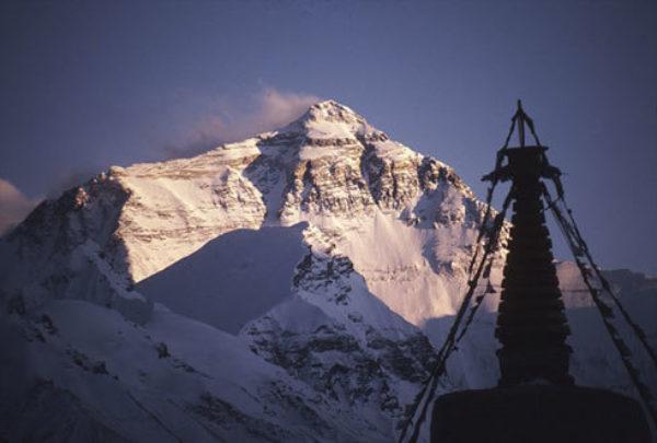 Everest Sunset - Trekking in Tibet