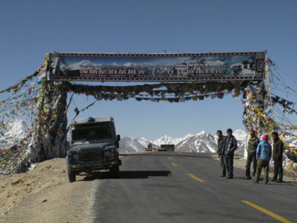 Lalung La Pass And Landy 5150M - Tibet
