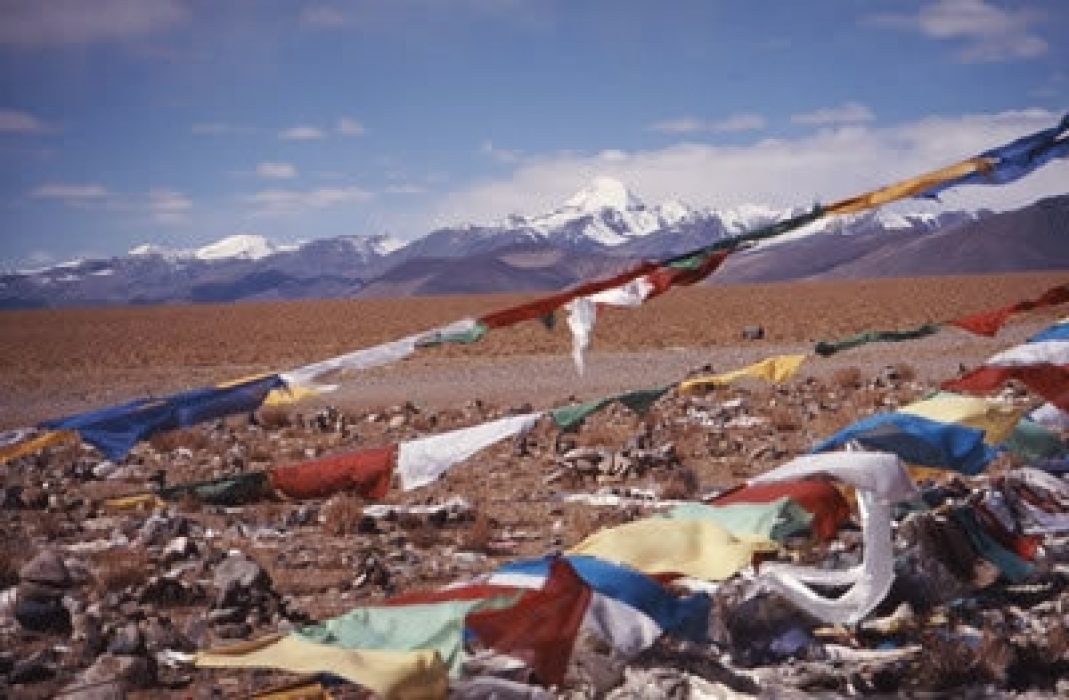 The First View Of Mount Kailash - Tibet