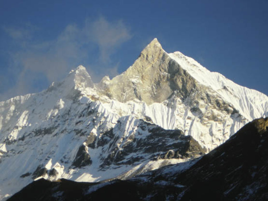 Machhapuchhre from the Sanctuary