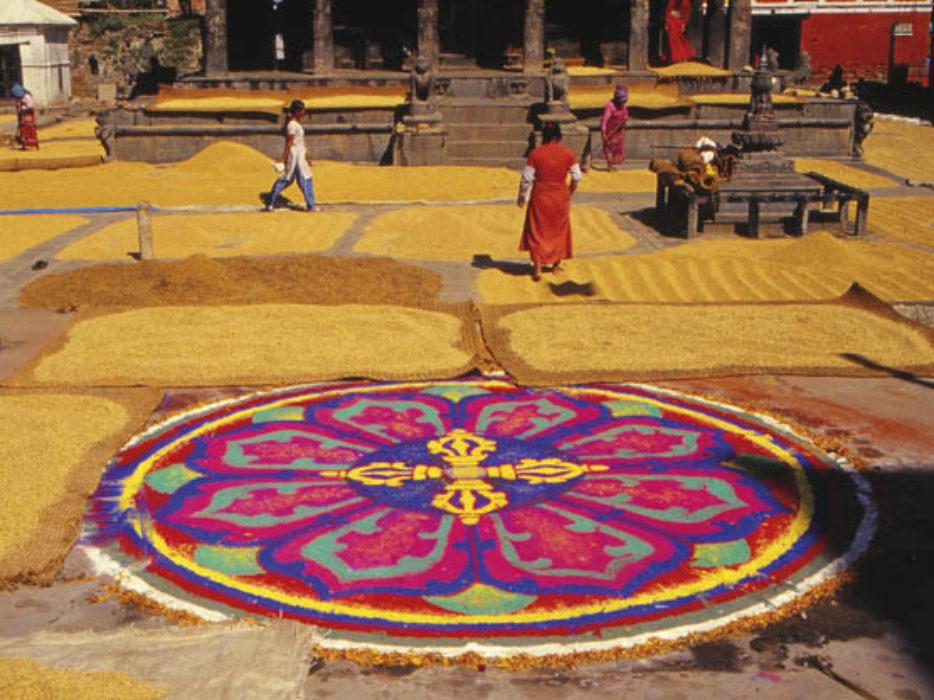 Mandala in Bungamati Square