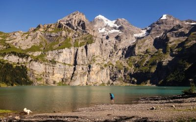 The new and improved Alpine Pass Route or Swiss Via Alpina 1