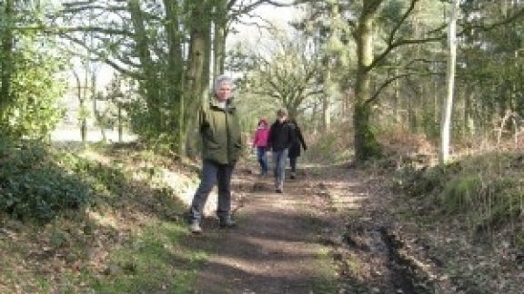 Ancient Path At Weston Under Redcastle Shropshire Which Is Being Claimed By Oss Members Courtesy Of Oss Website