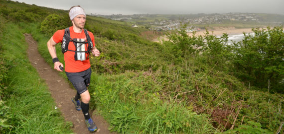 Damian Hall breaks South West Coast Path record