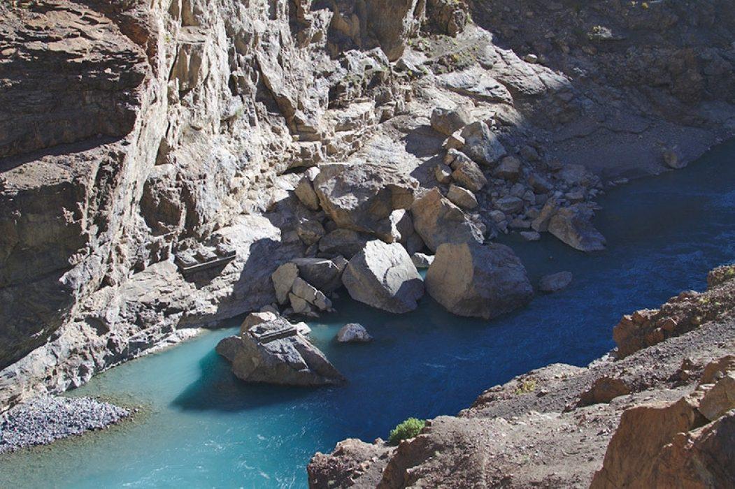 Trekking to Ladakh - Ladakh Landslide