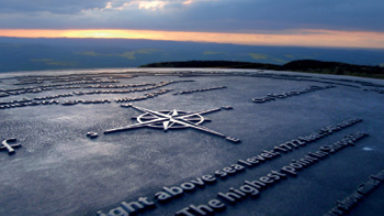 Alex Staniforth's challenge to climb UK County Tops