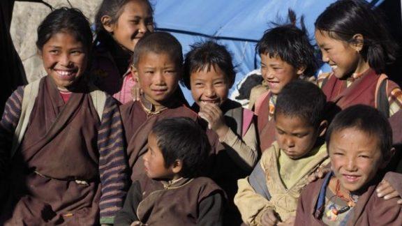 School Kids Visiting Our Camp In Numgung