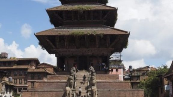 The Nyatopola Five Tiered Pagoda Temple In Bhaktapur Is Still Standing After 300 Years