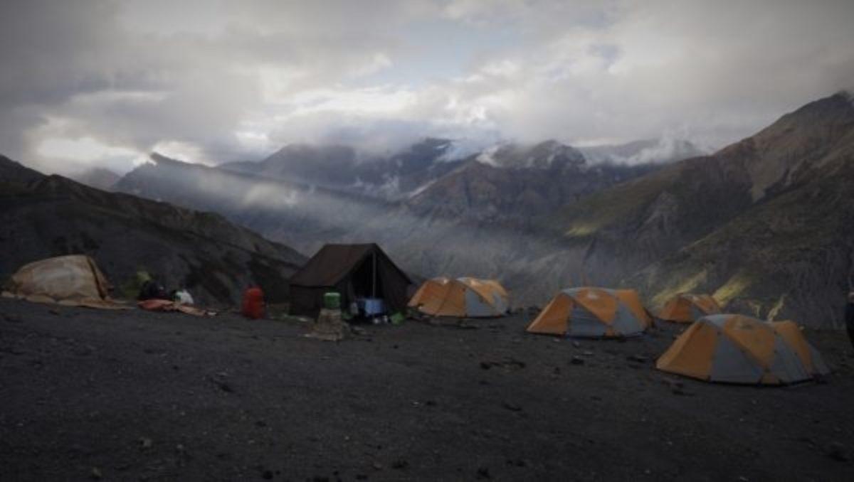 Last Camp At Sangda Lek