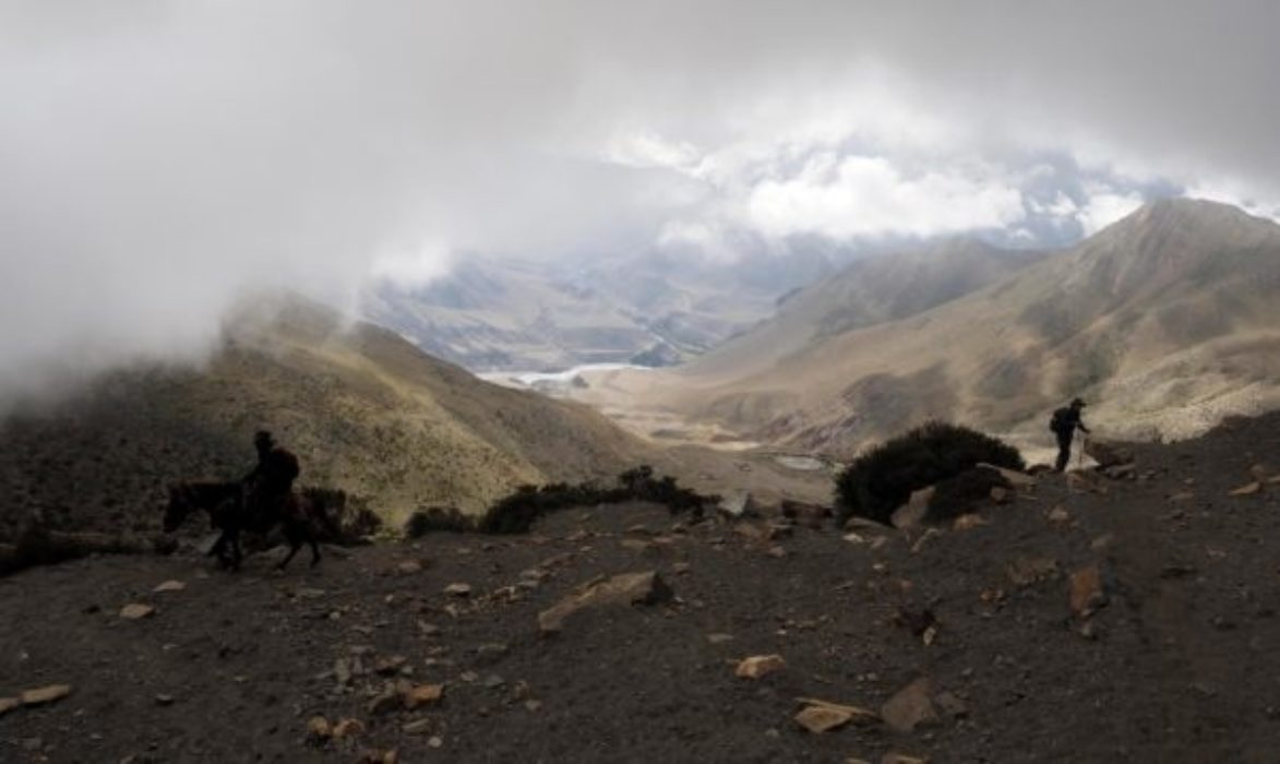 The Flood Plain Of The Kali Gandaki River Some 1600M Below The Cloud