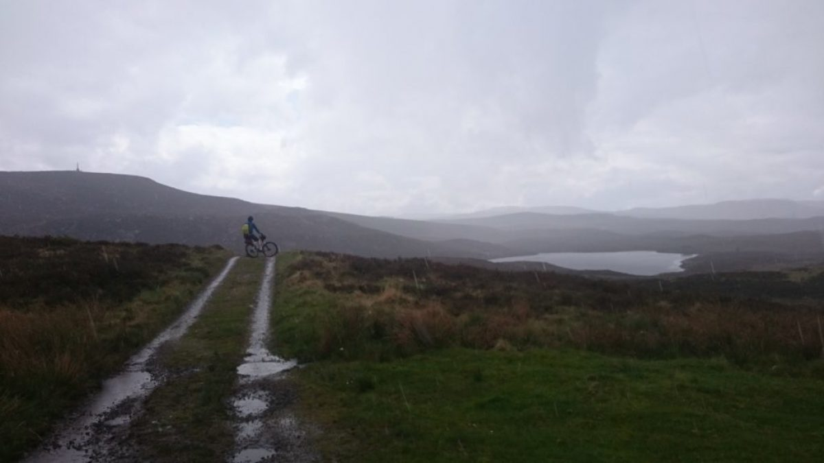 Mountain Biking In Scotland With A Cicerone Guidebook