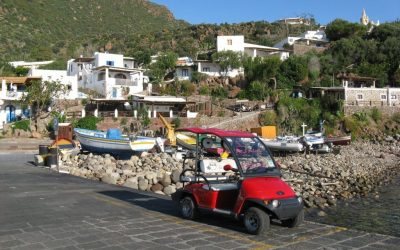 Arriving On Panarea