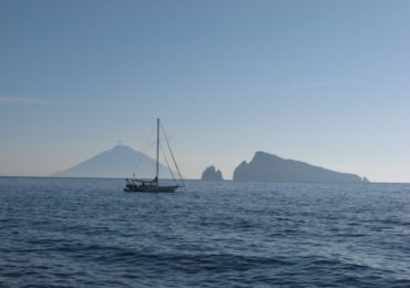 Early Morning Views Of Stromboli And Basiluzzo