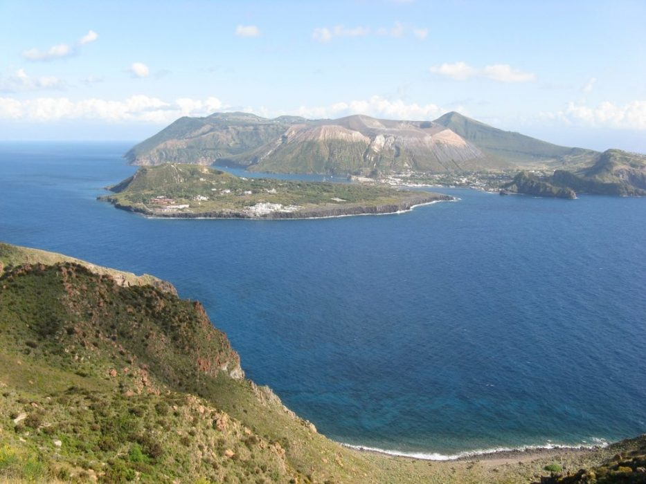 Vulcano From Liparis Southern Headland