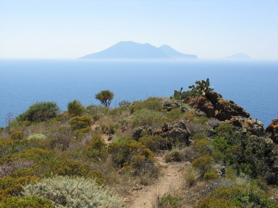 Walking Towards Lipari