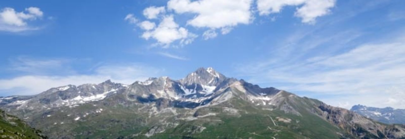 Incredible views across the Alps