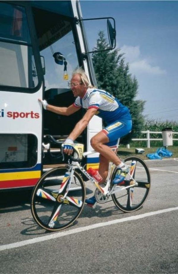 Laurent Fignon In The Tour De France 1991
