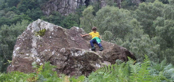 A Perfect Borrowdale Boulder