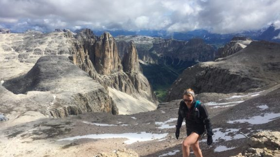 We Climbed Up To The Optional Summit Of Piz Boe At Over 3000M In The Sella Massif Which Is Also The High Point For The Famous Dolomites Skyrace