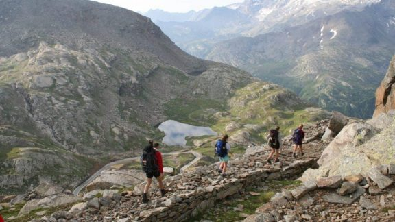 In the Gran Paradiso National Park, route of Alta Via 2 and the famous Tor de Geants ultramarathon race