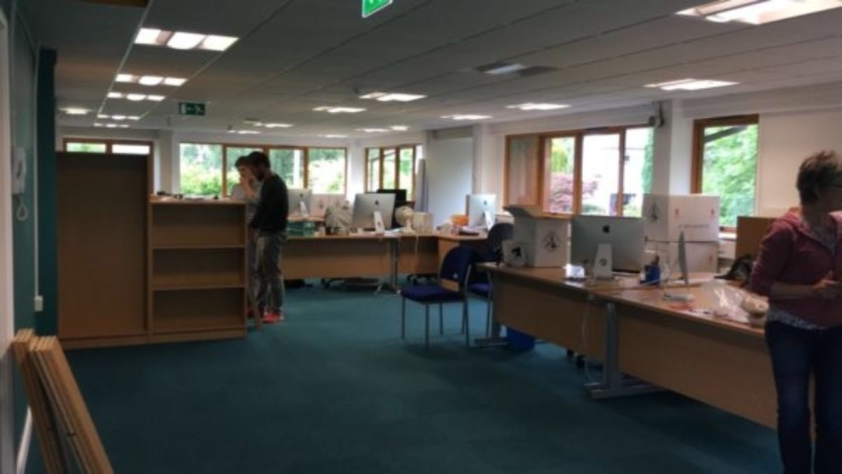 The New Office At Juniper House
